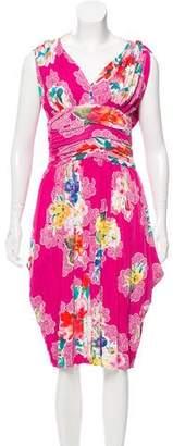 Dolce & Gabbana Chain-Embellished Midi Dress