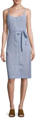 Ali & Jay Tie-Accented Sheath Dress