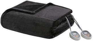 Simmons Heated Plush Twin Blanket Bedding