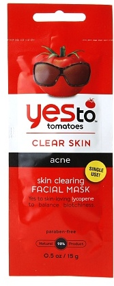 Yes to Tomatoes Clear Skin Acne Facial Masks