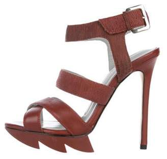Camilla Skovgaard Leather Strap Sandals Leather Strap Sandals