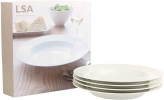LSA International Pasta Plate Set (Set of 4)