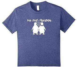 Penguins Matching Family Pajama Shirt Our First Christmas