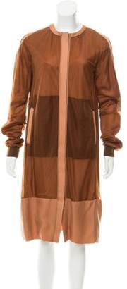 Reed Krakoff Longline Zip-Up Jacket