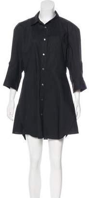 Acne Studios Button-Up Mini Dress