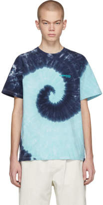 Kwaidan Editions SSENSE Exclusive Blue Tie-Dye T-Shirt