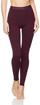 Iris & Lilly Women's Leggings in Lightweight Thermal Fabric Slim Fit,44 (Manufacturer size: )