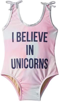 shade critters I Believe in Unicorns One-Piece Girl's Swimsuits One Piece