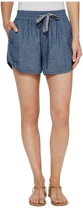 Alternative - Chambray Beach Comber Shorts Women's Shorts $54 thestylecure.com