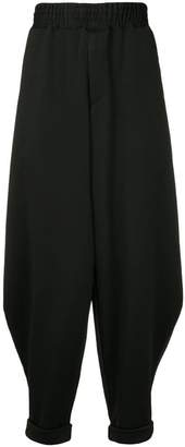 Comme des Garcons oversized slouched trousers