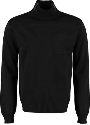 Burberry Long Sleeve Wool Turtleneck