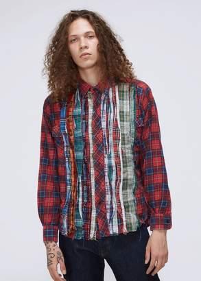 Needles Ribbon Flannel Shirt
