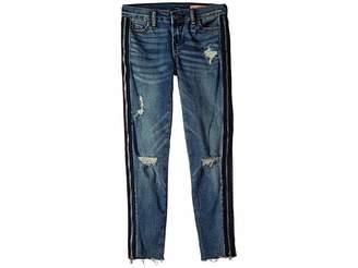 Blank NYC Kids Denim Skinny with Zipper Detail in Jersey Girls (Big Kids)