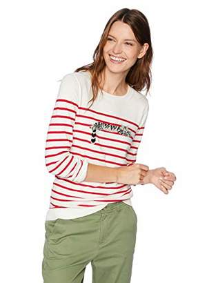 J.Crew Mercantile Women's Striped Crewneck Sweater
