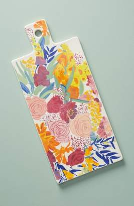 Anthropologie Paint + Petals Cheese Board