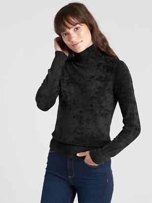 Gap Velour Turtleneck Sweater