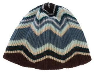 Missoni Striped Knit Beanie multicolor Striped Knit Beanie