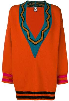 M Missoni v-neck oversized sweater