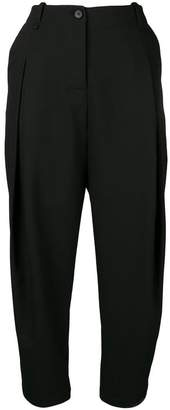 Masnada baggy tapered trousers