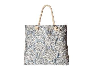 Echo Floral Embroidery Handbag Handbags