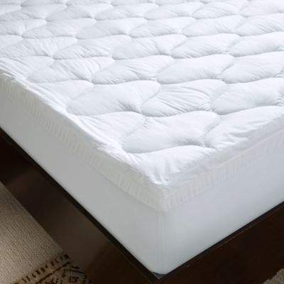 4-Inch Dual Layer Gel Memory Foam Twin Mattress Topper