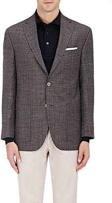 Barneys New York MEN'S CAPRI WOOL-BLEND TWO-BUTTON SPORTCOAT - BEIGE/TAN SIZE 42 L