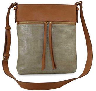 Sondra Roberts SQUARED Squared Colourblocked Crossbody Bag