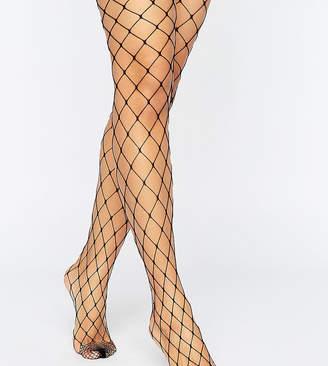 Asos Design DESIGN 2 pack oversized fishnet tights