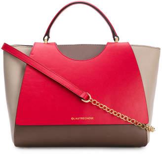 L'Autre Chose tri-colour chain strap bag