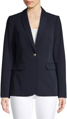 Tommy Hilfiger Single-Button Notch Lapel Jacket