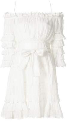 Zimmermann corsair frill tiered dress