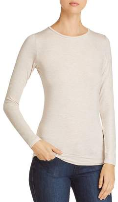 Majestic Filatures Metallic Long-Sleeve Tee