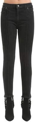 Magda Butrym Cotton Denim Jeans W/ Stirrups