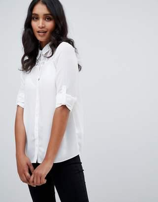 Lipsy Lace Insert Shirt