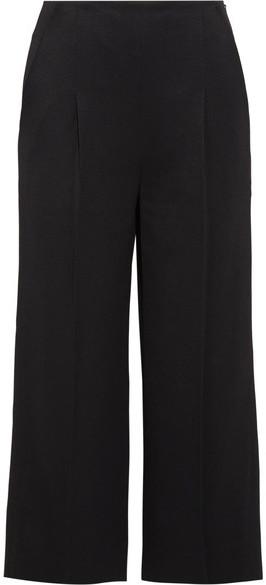 ChalayanChalayan - Cropped Twill Wide-leg Pants - Black