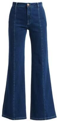 See by Chloe High-Waist Wide Leg Jeans