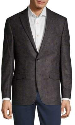 Lauren Ralph Lauren Plaid Wool Jacket