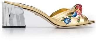Dolce & Gabbana floral sandals