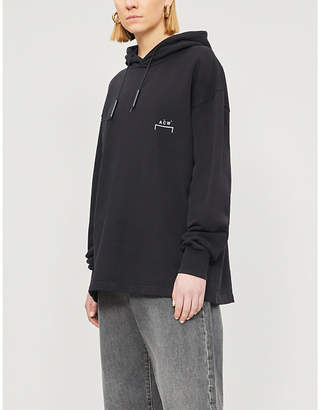 A-Cold-Wall* Oversized cotton-jersey hoody