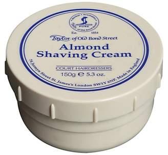 Taylor of Old Bond Street Almond Shaving Cream, 150g