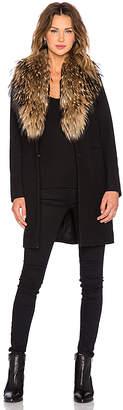 SAM. Crosby Asiatic Raccoon Fur Coat