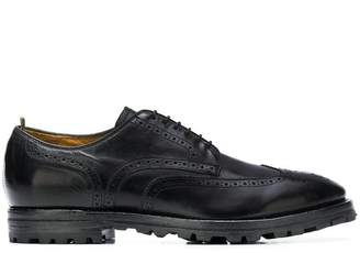 Officine Creative embroidered derby shoes