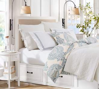 Pottery Barn Stratton Storage Platform Bed with Drawers