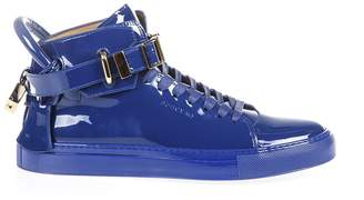 Buscemi Patent Leather High-top Sneakers
