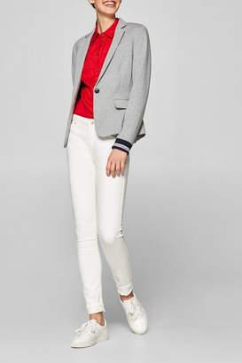 Esprit Fitted Jersey Blazer
