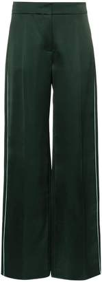 Peter Pilotto flared satin trousers