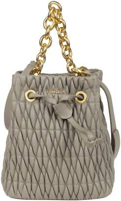 Furla Quilted Bucket Bag