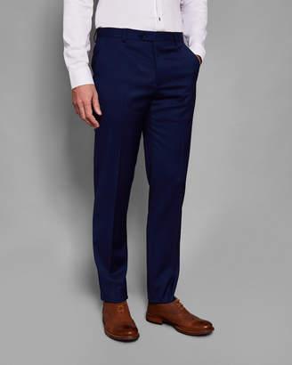 Ted Baker CASTLTT Debonair plain wool suit pants