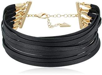 GUESS Multi-Paracord Choker Necklace