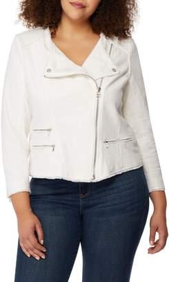 Wilson Rebel X Angels Frayed Cotton Moto Jacket